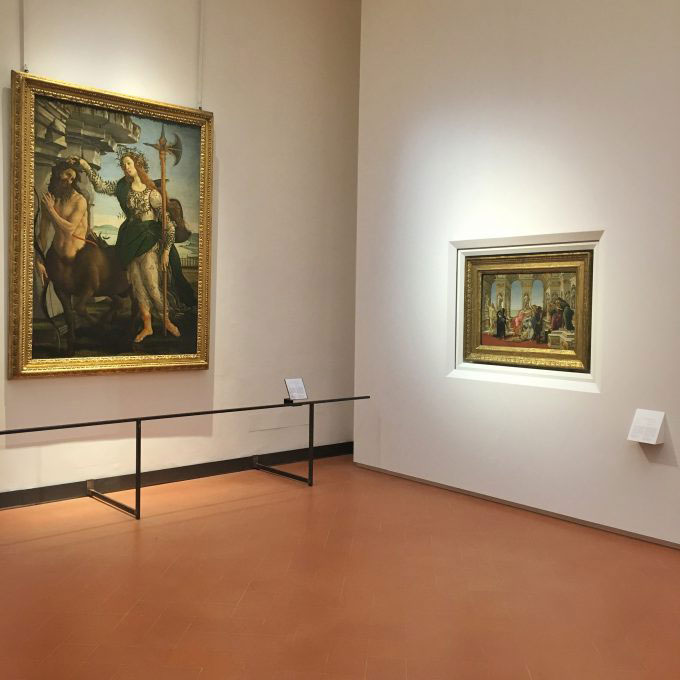 The new rooms will allow visitors to spend more time contemplating the works. Photo Credit: Mary Gray/The Florentine.