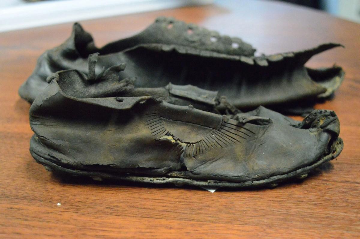 Roman sandals. Credit: Vindolanda Trust