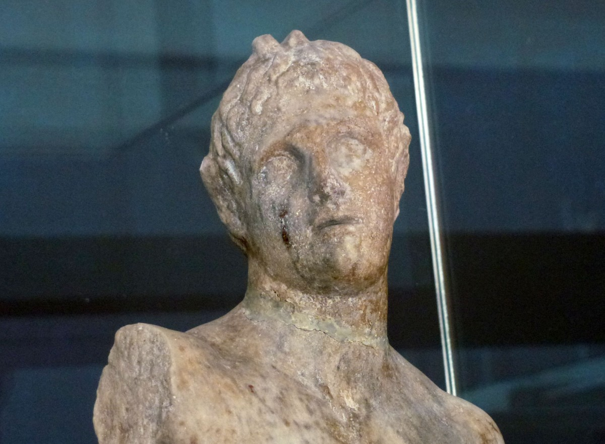 Marble statuette of Alexander-Pan