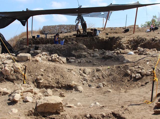 Excavations at Tel Akko. Credit: Penn State University