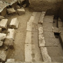 An unknown ancient theatre was revealed in ancient Thouria of Messenia