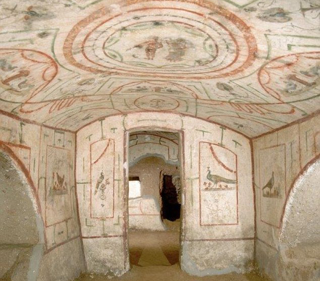 View of the Jewish catacombs. Photo credit: Alamy