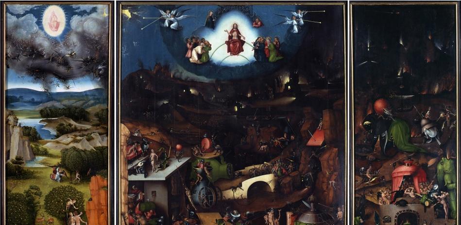Lucas Cranach the Elder, winged altarpiece with The Last Judgement, copy after Hieronymus Bosch (detail), ca. 1524 © Staatliche Museen zu Berlin, Gemäldegalerie / Jörg P. Anders