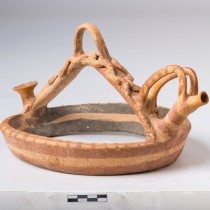 Ancient Cypriot clay ring-vase repatriated to Cyprus from the UK