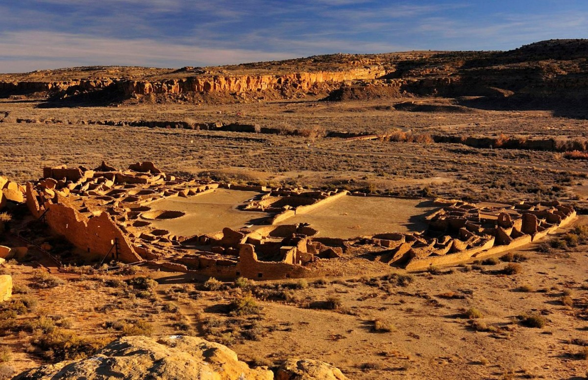 Pueblo Bonito, Chaco Culture National Historical Park, New Mexico.