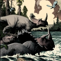 Researchers name two new horned dinosaur tribes