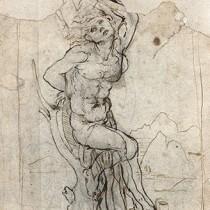 Unknown 'sensual' drawing by Leonardo da Vinci discovered in France