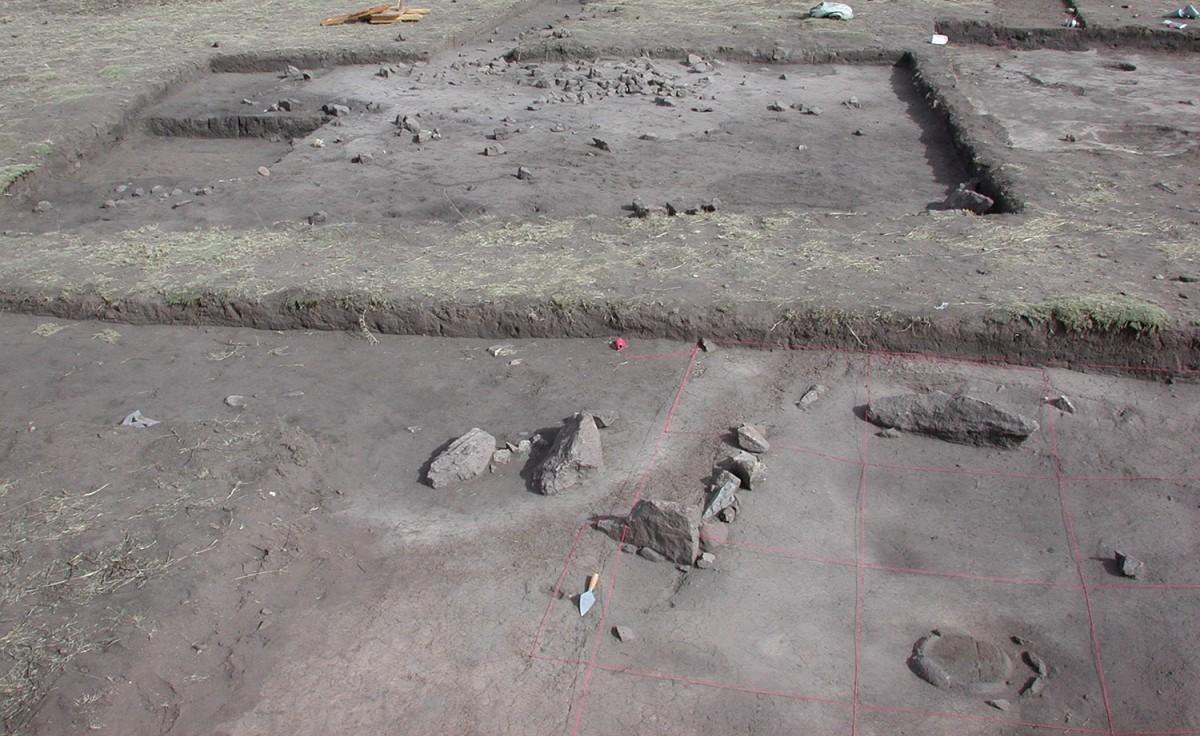 The pre-Columbian site of Jisk'a Iru Muqu.