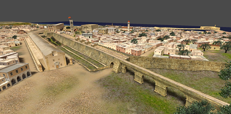 Fig. 4. Heraklion, a journey into history… at every step. An electronic exploration of Heraklion's Old Town.