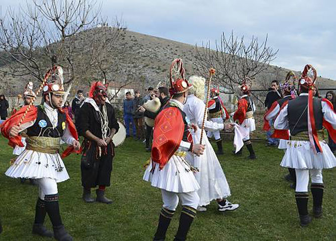 The Momoeria custom is one of the most significant elements of collective identity for the Greeks of Pontian origin.