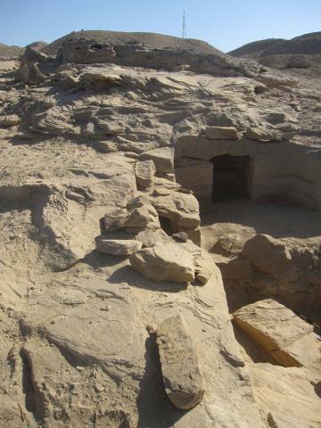 Tomb entrance.