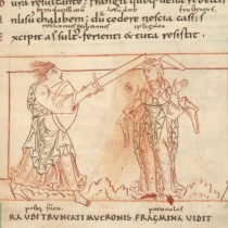Psychomachia: medieval bestseller and graphic novel