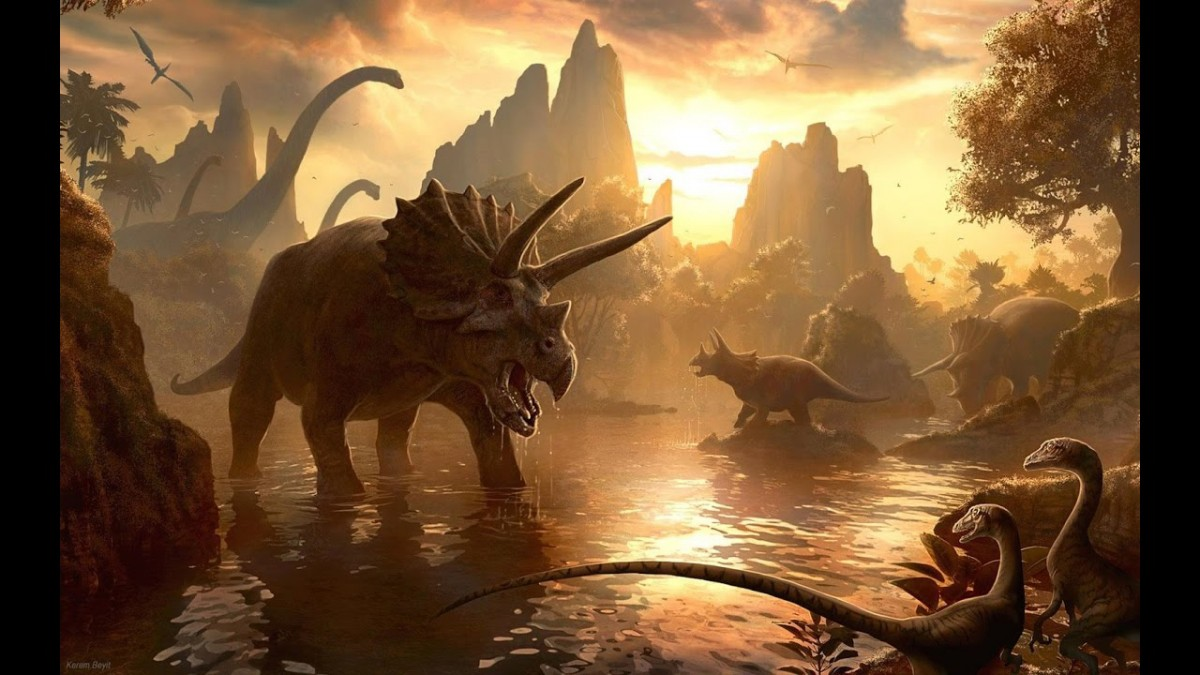 The new computer simulations show that the droplets resulted in long-lasting cooling, a likely contributor to the death of land-living dinosaurs.
