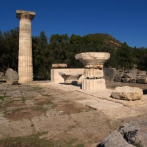 Collecting, clustering and evaluating in ancient Olympia