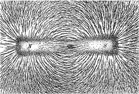 Geomagnetic field. Newton Henry Black, Public Domain, via Wikimedia Commons