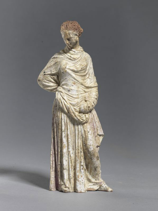 Female figure. Beginning of 3rd c. BC (Derveni), Thessaloniki.
