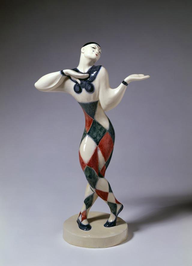 "Fritz Behn, ""The dancer Nijinsky"" (1912-1923). Photo credit: Badisches Landesmuseum Karlsruhe."
