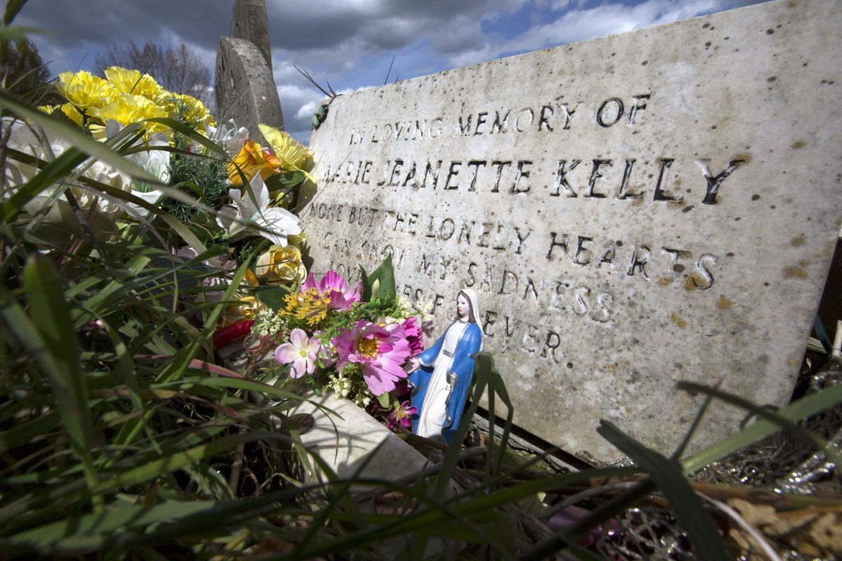 This is Mary Jane Kelly's grave. Credtit: Carl Vivian University of Leicester