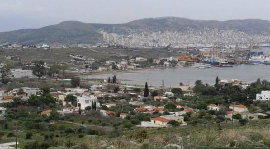 Salamis, view of the Ambelaki Bay from SE (Photo: Chr. Marabea).