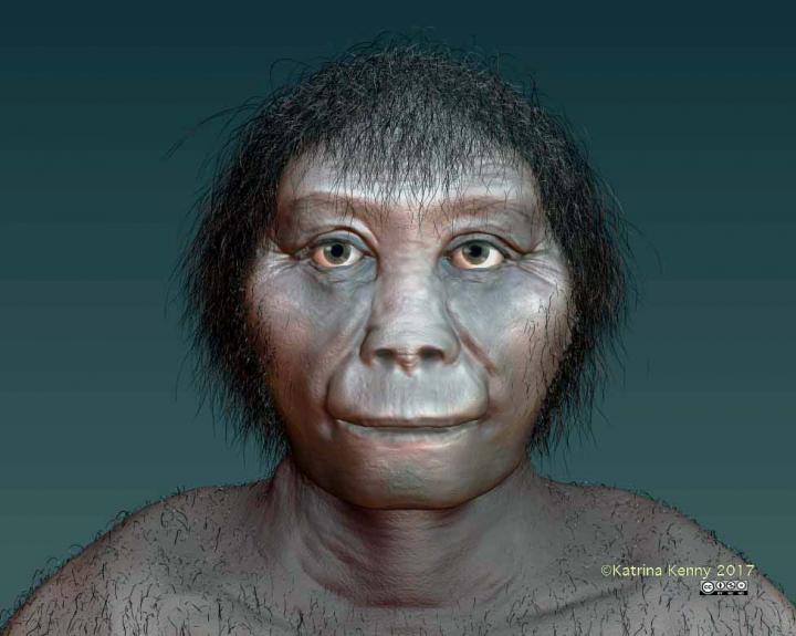 An artist's impression of Homo floresiensis. Credit: Katrina Kenny, SA Museum