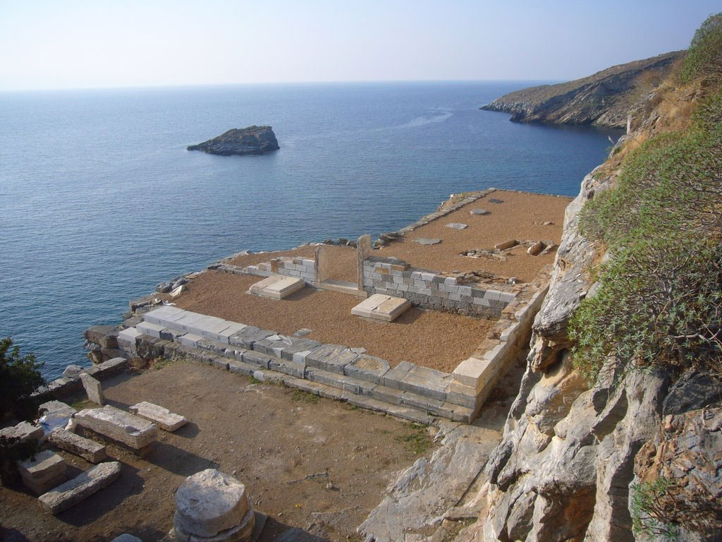 Ancient Kartaia: The Temple of Apollo after the restoration works. Photo credit: Europa Nostra