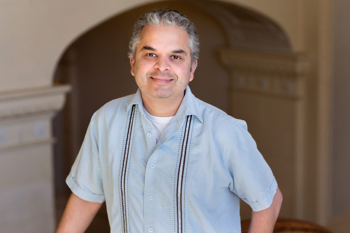 Anthropology professor Ripan Malhi works with Native Americans and First Nations groups to analyze their DNA and that of their ancestors. Photo by L. Brian Stauffer