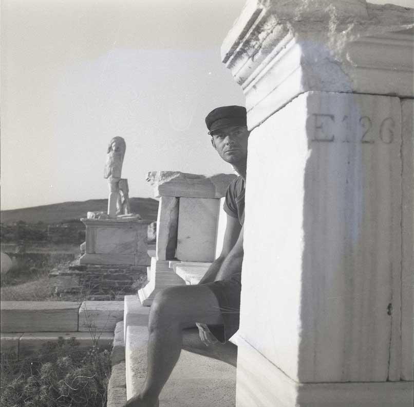 Cy Twombly. © Fondazione Nicola Del Roscio. Courtesy Archives Fondazione Nicola Del Roscio.