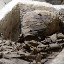 Human necropolis discovered in central Egypt
