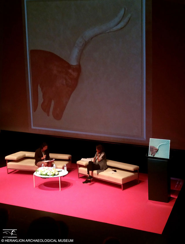 Snapshot from the presentation of the Heraklion Museum at the 2017 Award Ceremony held in Zagreb, Croatia.