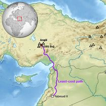 Well-traveled tool shows early humans covered vast distances