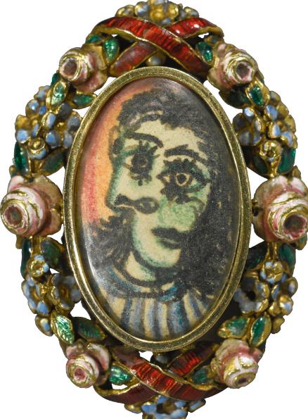 The Dora Maar portrait ring.