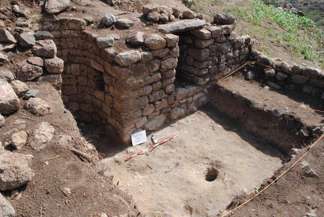 A 12th-century mosque discovered in Harlaa, in eastern Ethiopia. The mosque is similar in style to others  found in East Africa, suggesting connections between Islamic communities in the region. Credit: Tim Insoll, University of Exeter.