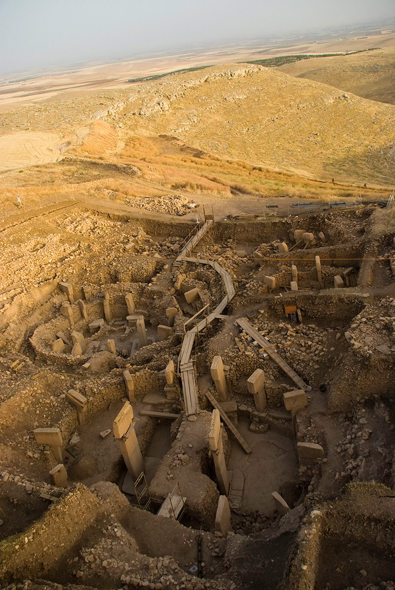 Fig. 11: Göbekli Tepe: Southeast-Hollow. (Image: DAI)