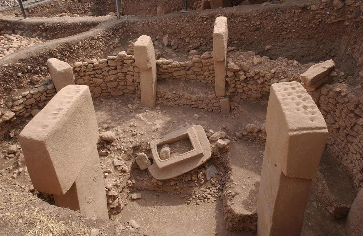 Fig. 7: Building B at Göbekli Tepe. (Image: DAI)