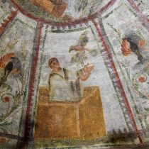 New Christian frescoes revealed in Rome's biggest catacomb