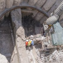 Pompeian houses found in Rome during metro line excavations