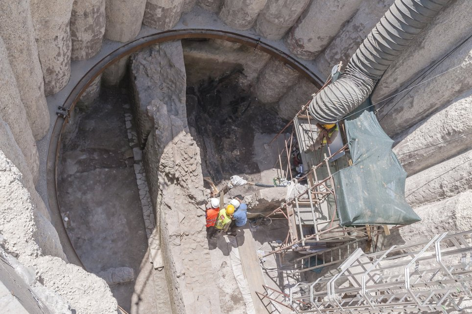 A significant discovery was made under Rome's metro system (Picture: Corbis/Getty)
