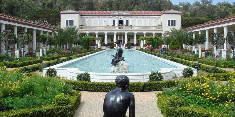 The Getty Villa.