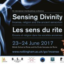 Sensing Divinity: Incense, religion and the ancient sensorium