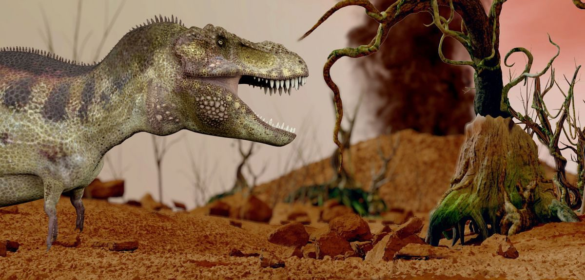 The Triassic extinction took place approximately 200 million years ago, and was proceeded by the dinosaur era.