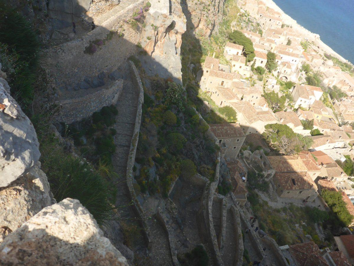 The castle town of Monemvasia