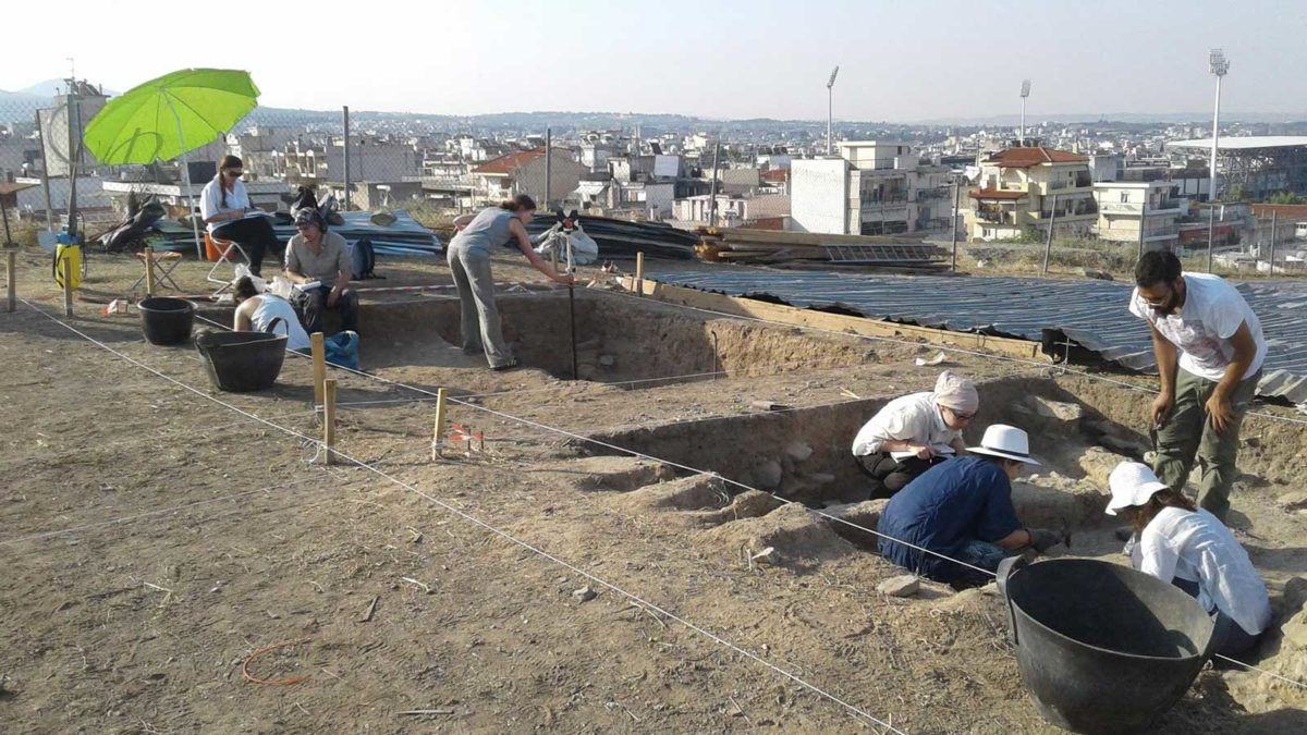 The programme's aims are, among others, familiarization with the history and archaeology of Macedonia and training in matters of excavation methodology.