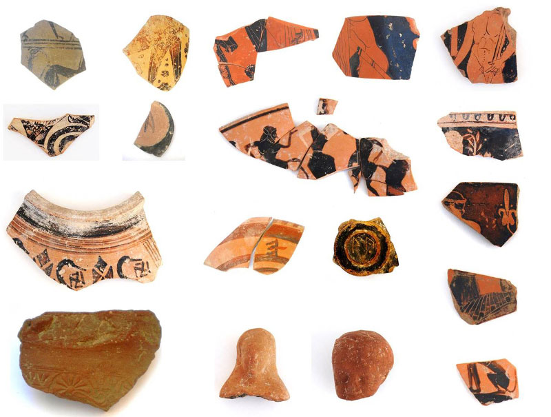 Pottery fragments. Photo credit: Ministry of Culture and Sports