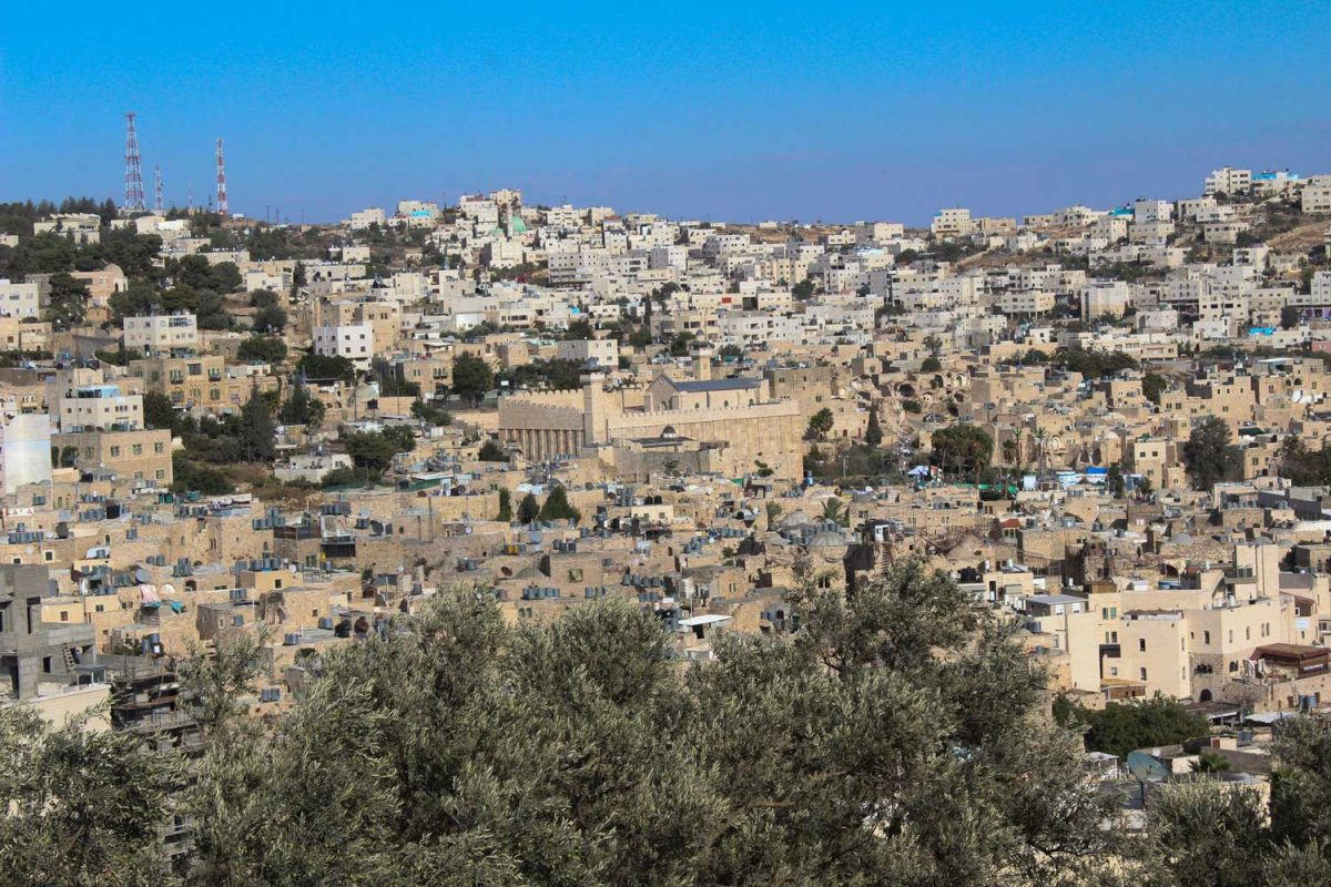 View of Hebron (photo: Wikipedia).