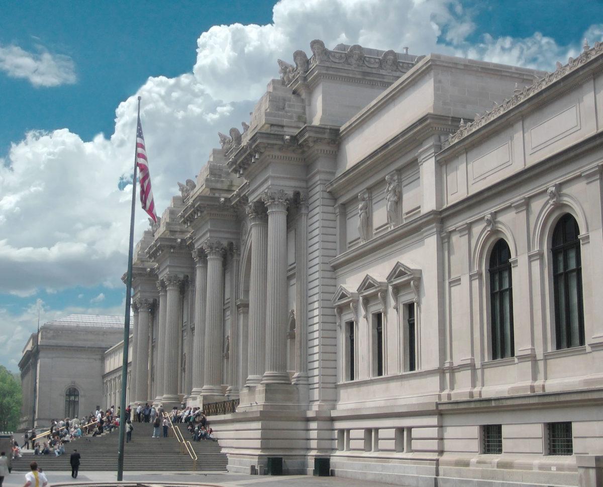The Metropolitan Museum of Art in  New York.