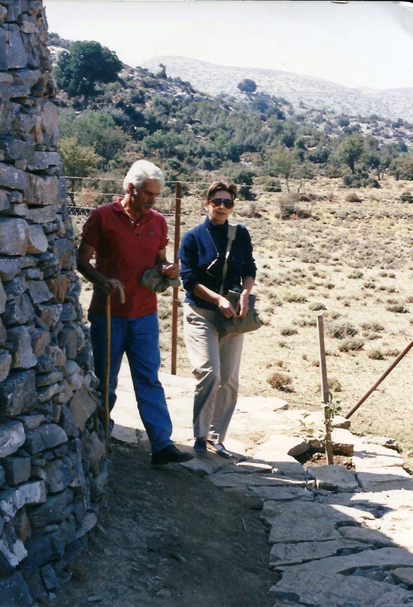 Fig. 22. The Sakellarakis couple at Zominthos.