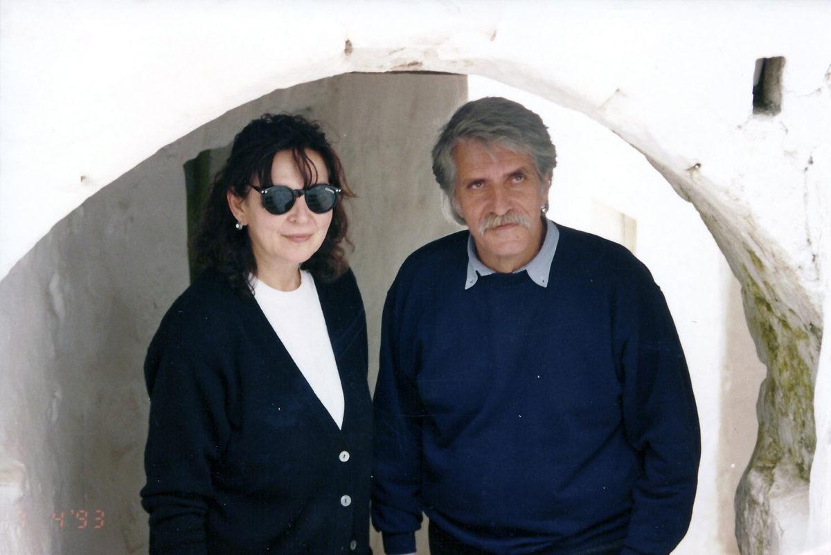 Fig. 27. The Sakellarakis couple on Patmos in the 1990s.