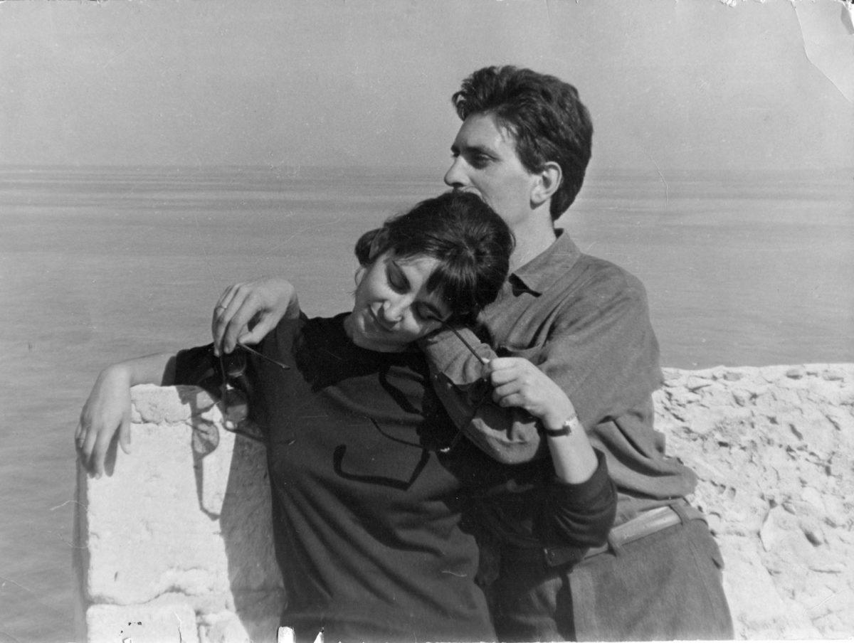 Fig. 8. The Sakellarakis couple in Rethymnon, 1965 (photo: K. Davaras).