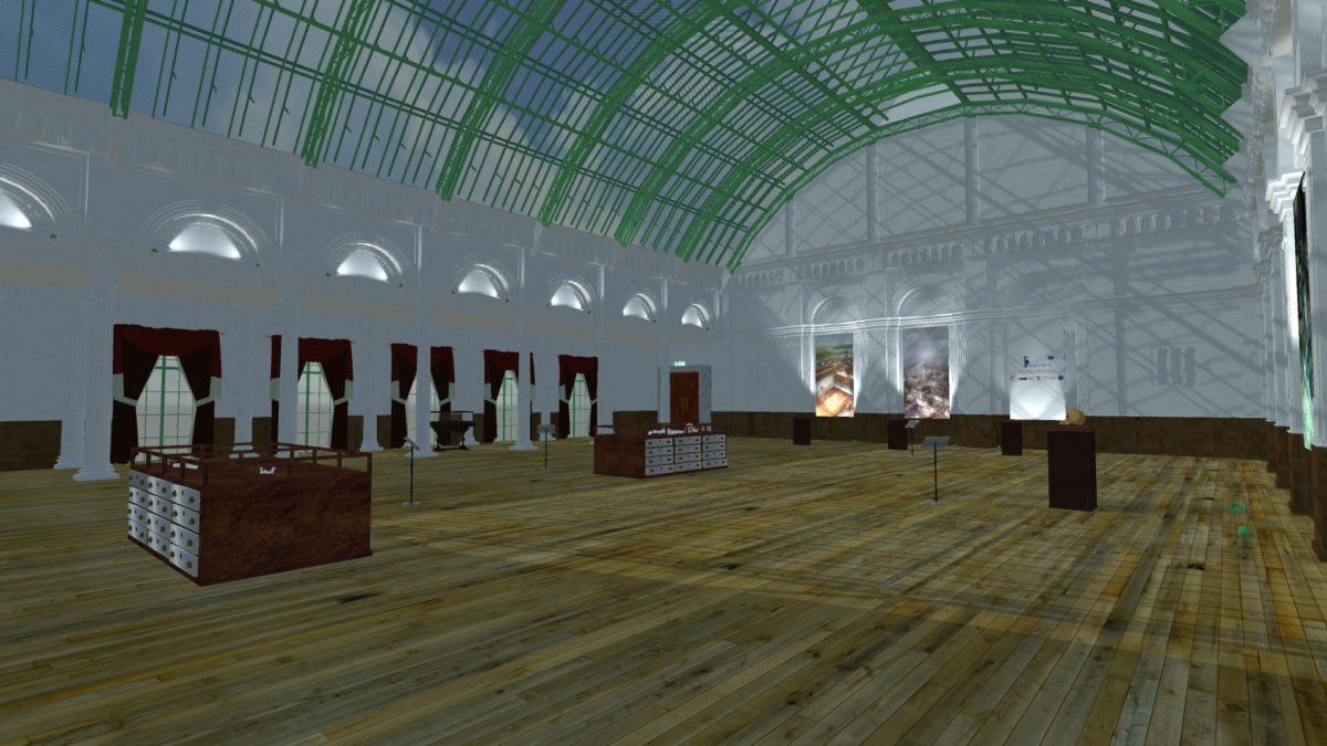 The virtual museum of Liverpool, where the collections of human skeletons will be exhibited.