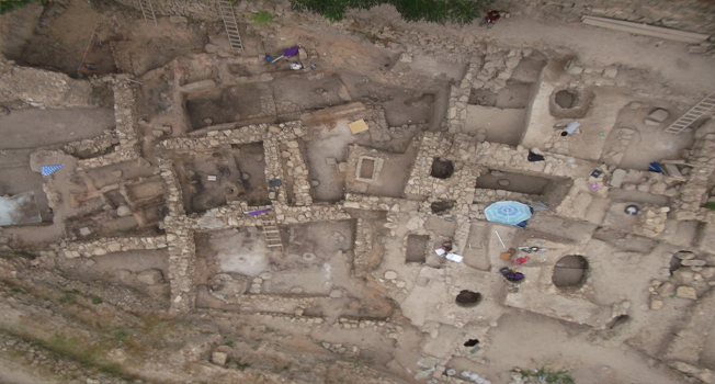 View of the Sidon excavation.
